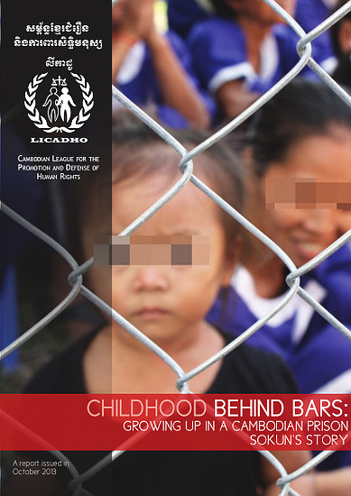 report  childhood behind bars