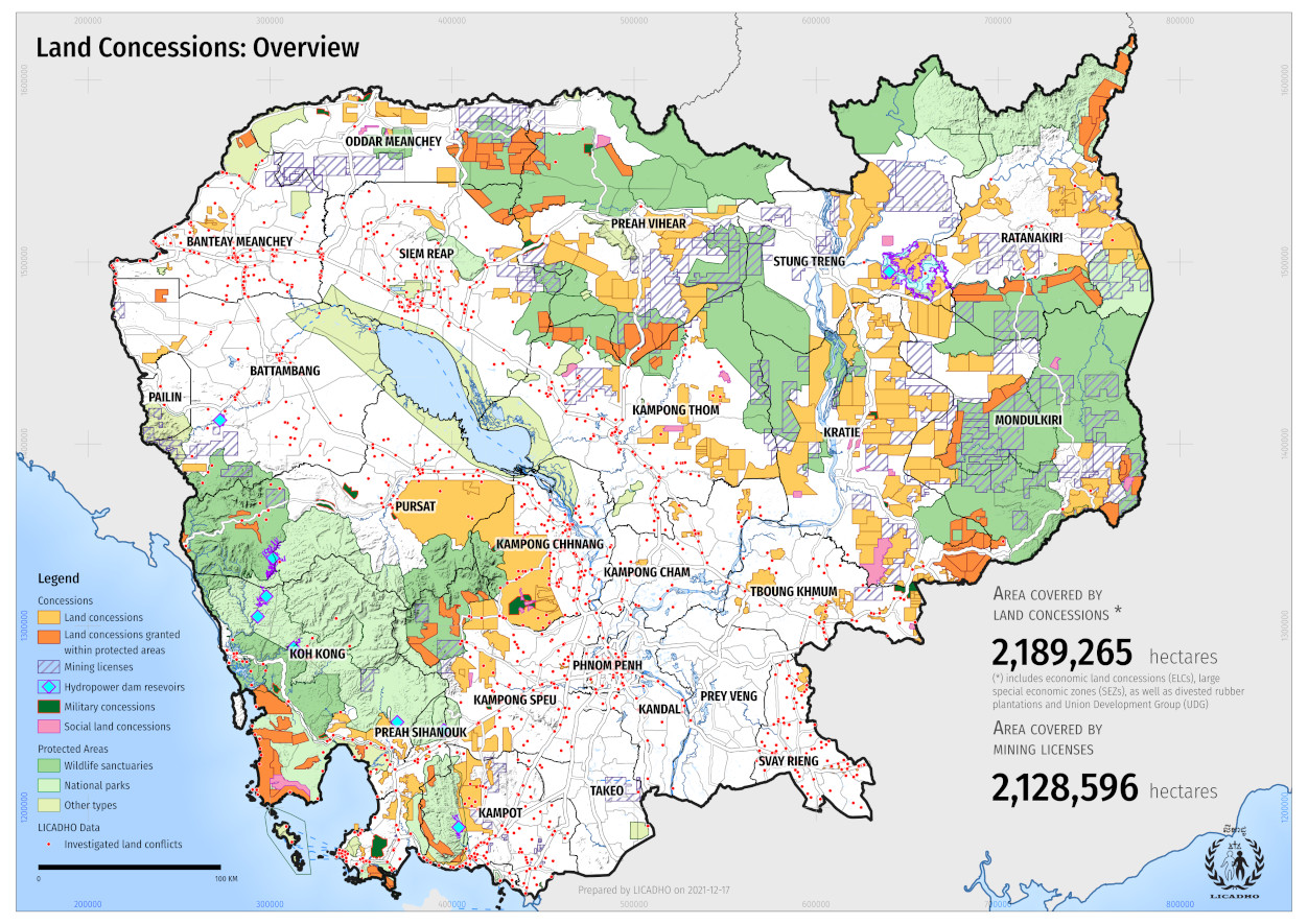 NASA Visible Earth: Cambodia's Forests Are Disappearing on